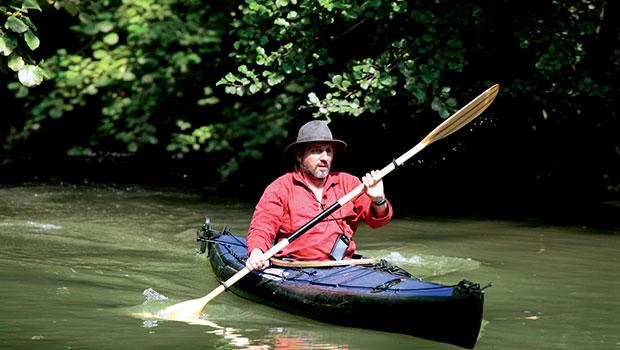 Comme un avion Bruno Podalydès Agnès Jaoui Sandrine Kiberlain Denis Podalydès Film Scène Kayak Rivière