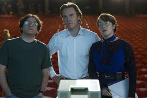 Steve Jobs Danny Boyle Aaron Sorkin Michael Fassbender Biopic Film Scène