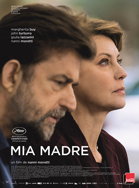 Affiche Film Mia Madre Nanni Moretti John Turturro Margherita Buy