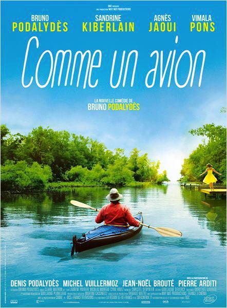 Affiche film Comme un avion