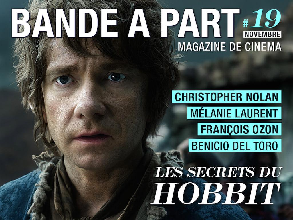 couverture bande a part 19 Nolan Ozon Del Toro le hobbit