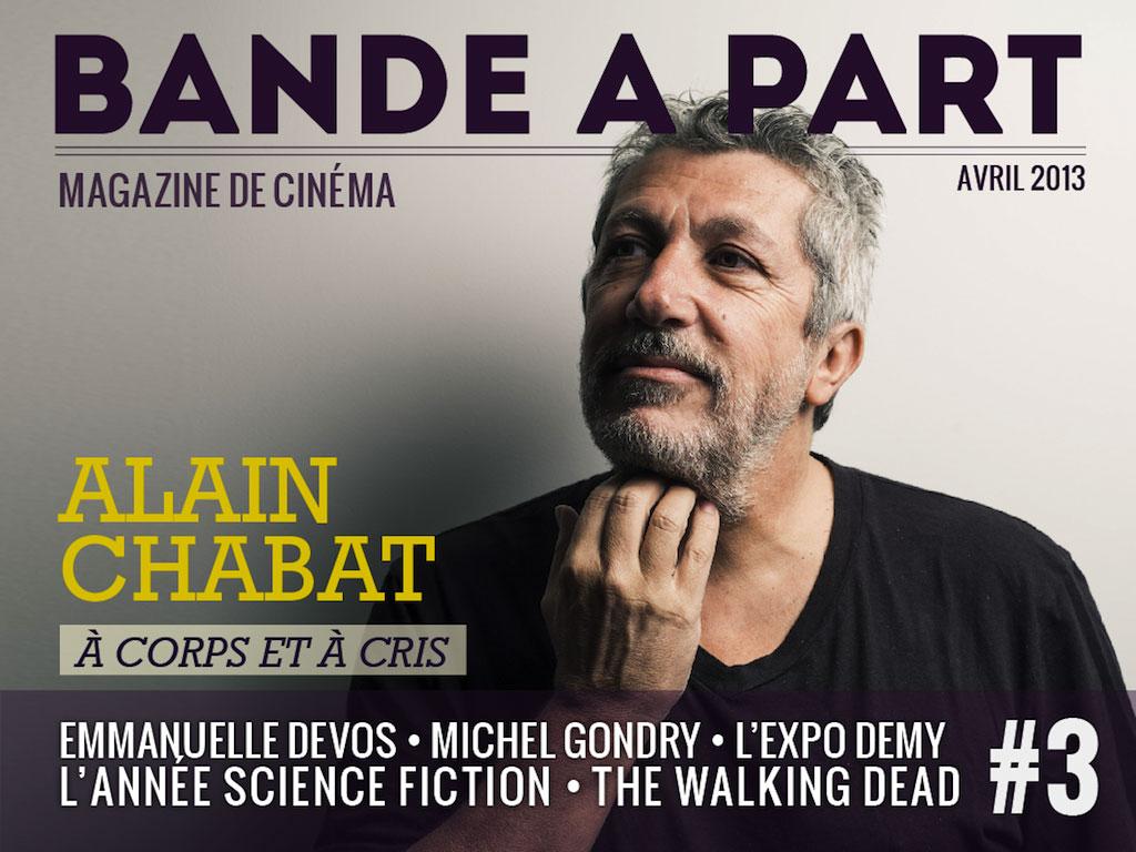 couverture BANDE A PART 03 alain chabat michel gondry