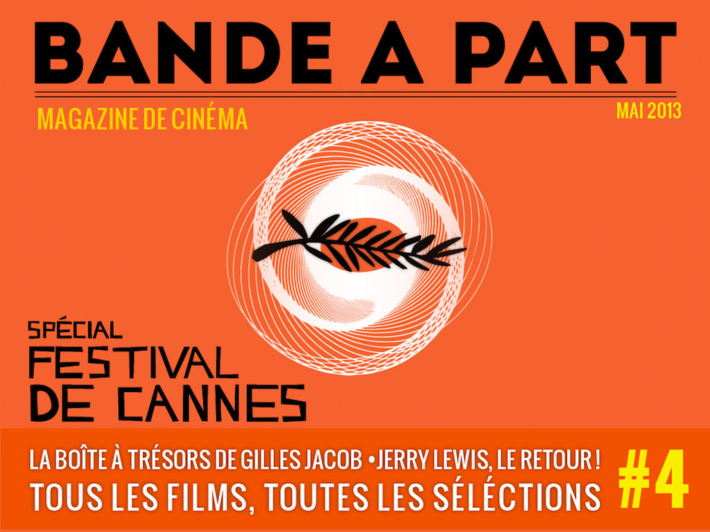 couverture BANDE A PART 04 festival de cannes