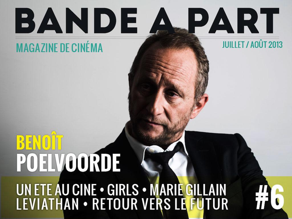 couverture BANDE A PART 06 Benoit poelvoorde retour vers le futur