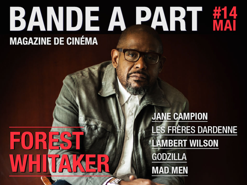 couverture BANDE A PART 14 forest whitaker jane caampion les freres dardenne lambert wilson godzilla mad men