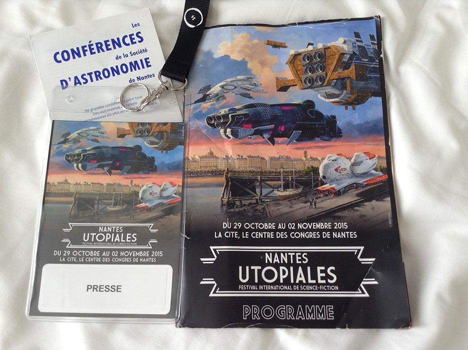 Utopiales 2015 - images 12 passe presse