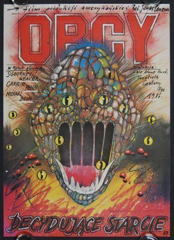 Affiche polonaise d'Alien