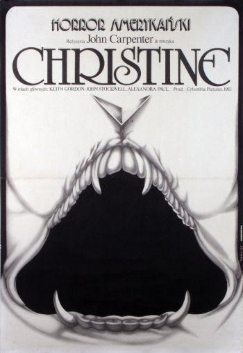 Affiche polonaise de Christine
