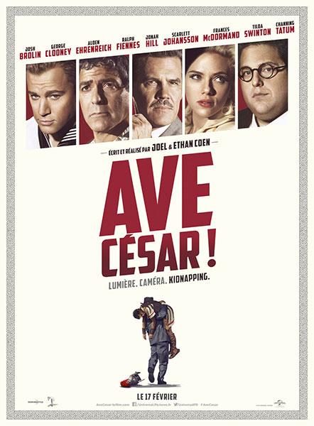 Affiche film Ave, César !