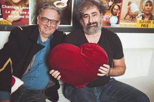 Les réalisateurs de Saint Amour, Benoît Delépine et Gustave Kervern