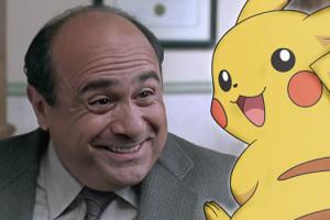 Pikachu et Danny deVito
