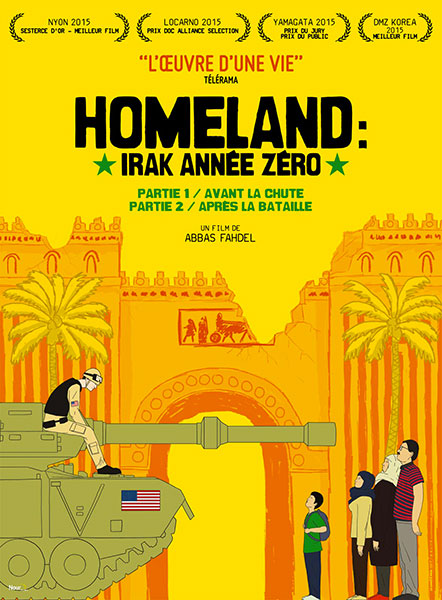 Affiche Homeland (Irak année zéro)
