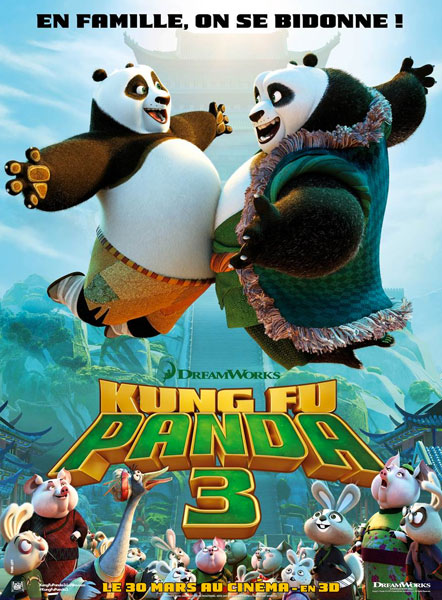 sélection de la semaine Kung Fu Panda 3