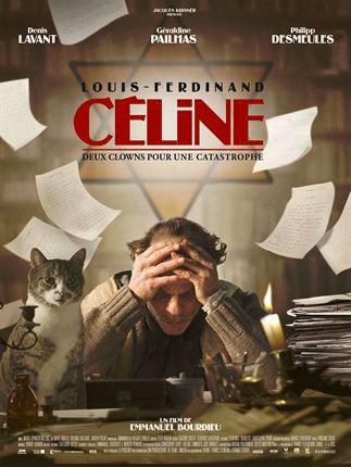 Affiche film Louis-Ferdinand Céline