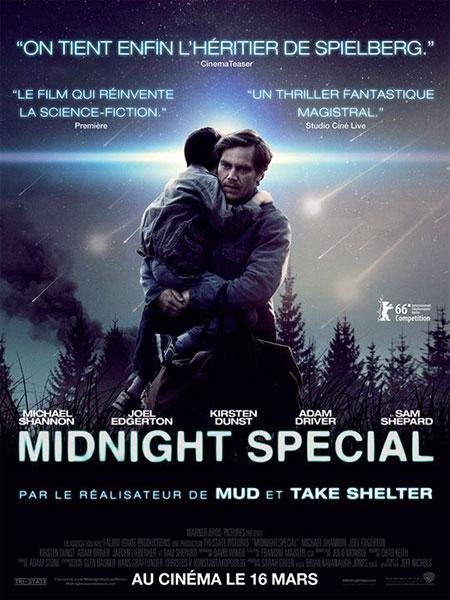 Affiche film Midnight Special de Jeff Nichols - sélection de la semaine