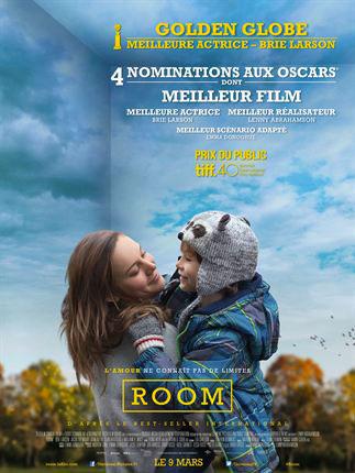 Affiche film Room avec Brie Larson