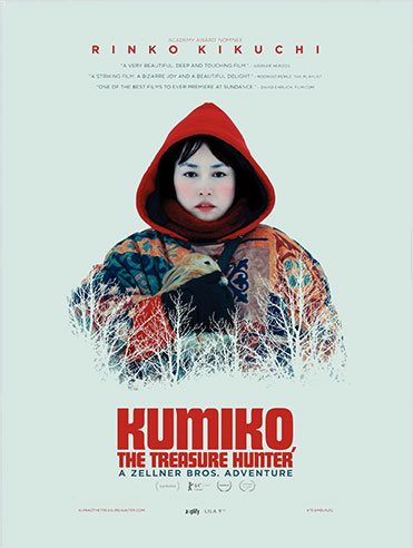 Carnet de voyage Premiers Plans d'Angers : affiche film Kumiko, The Treasure Hunter