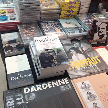 Carnet de voyage Premiers Plans d'Angers : les écrits de Luc Dardenne à la librairie cinéphile