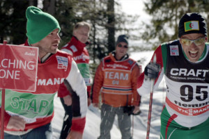 Good luck Algéria Farid Bentoumi. Avec Sami Bouajila, Franck Gastambide, Chiara Mastroianni, Bouchakor Chakor Djaltia ski de fond coaching duo