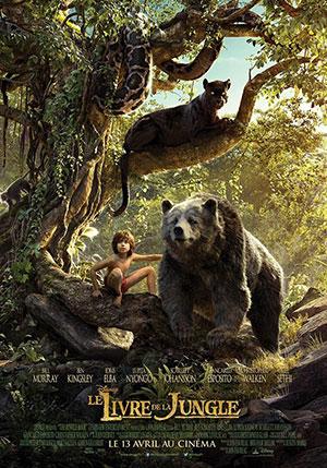 Le Livre de la Jungle de Jon Favreau Affiche du film