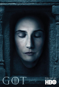Games of Thrones affiche hall of faces saison 6