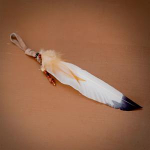 une plume d'aigle amérindienne