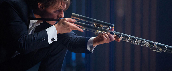 Mission Impossible Rogue Nation Tom Cruise Flute Weapon Gun Arme Flûte