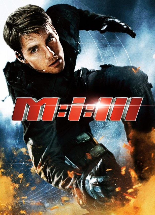 Mission Impossible 3 Affiche J.J. Abrams Tom Cruise Anniversaire