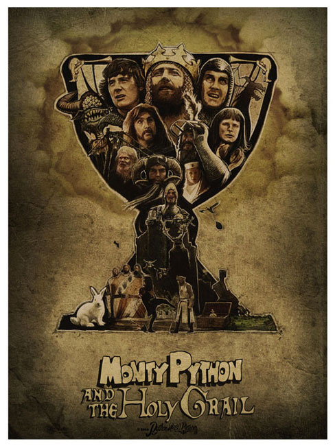 Monty Python Holy Grail par Paul Shipper