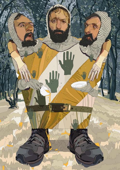 3 Headed Knight de Tony Rodriguez