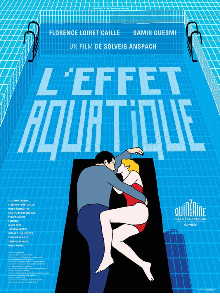 Affiche de l'Effet aquatique de Solveig Anspach