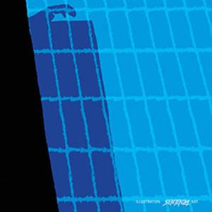 Affiche de l'Effet aquatique de Solveig anspach. Illustration par Sentenza