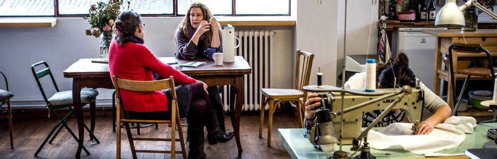 Rencontre avec Anaïs Romand, créatrice de costumes. © Yann Vidal