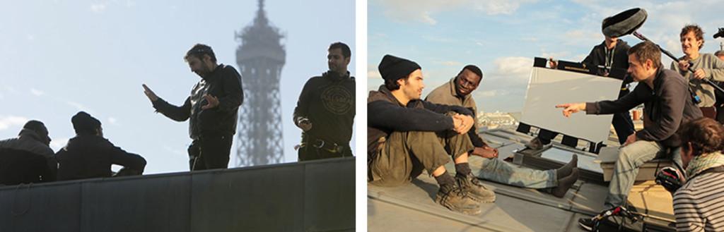 Toits de Paris - Artwork - Décor du film Samba de Olivier Nakache, Eric Toledano.