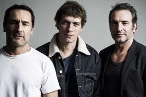 Gilles Lellouche, Cédric Jimenez et Jean Dujardin
