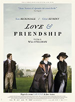 Affiche de Love & Friendship de whit Stillman