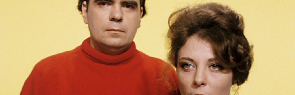 Michael Lonsdale et Tiziana Siffi dans L'Hiver de Marcel Hanoun (1969)
