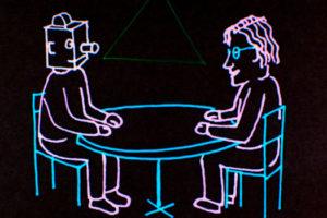 Conversation animée avec Noam Chomsky de Michel Gondry
