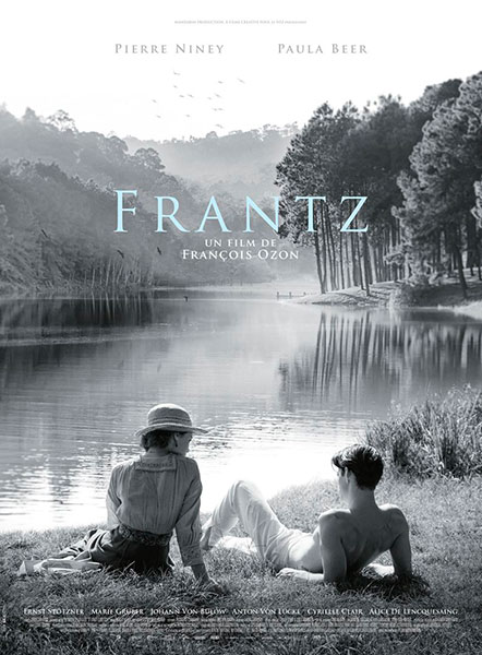 Affiche de Frantz de François Ozon, sortie le 7 septembre 2016.