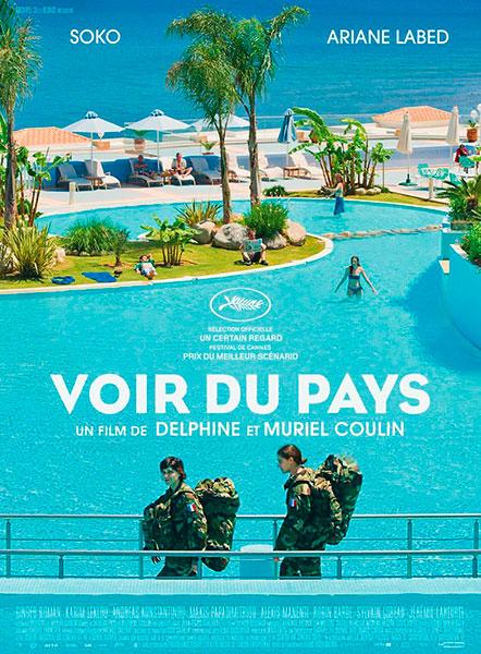 Affiche de Voir du Pays de Delphine et Muriel Coulin, sortie le 7 septembre 2016.