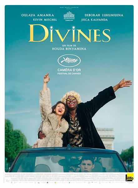 Affiche de Divines de Houda Benyamina, sortie le 31 août 2016