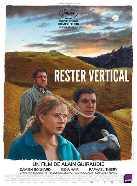 Affiche de Rester Vertical, sortie le 31 août 2016