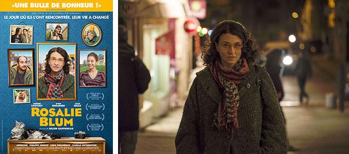 Sortie DVD : Rosalie Blum de Julien Rappeneau avec Noémie Lvovsky, Kyan Khojandi