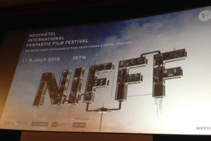 Neuchâtel International Fantastic Film Festival 2016 : Affiche sur grand écran