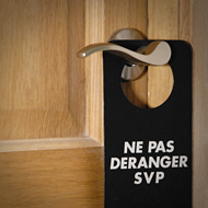 Interview azimutée de Gérard Lanvin : ne pas déranger porte © Annick Holtz