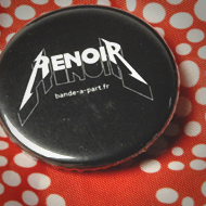 Interview azimutée de jean-Jacques Annaud : renoir badge © Annick Holtz