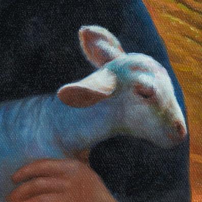 Affiche Rester Vertical d'Alain Guiraudie : l'agneau