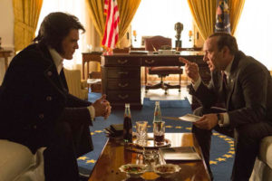 Elvis & Nixon de Liza Johnson avec Michael Shannon et Kevin Spacey