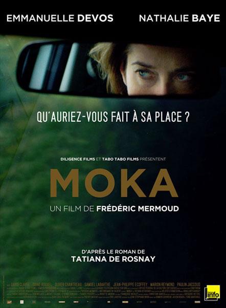 Moka Frédéric Mermoud Emmanuelle Devos Nathalie Baye Affiche