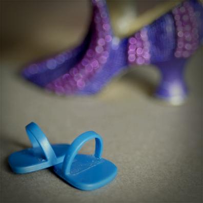 Interview SMS de Mélanie Bernier : chaussures, jouet © Annick Holtz